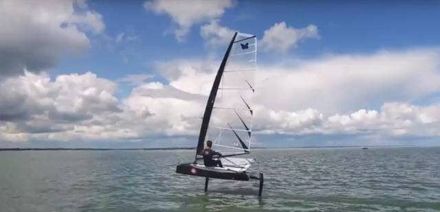 Fitzpatrick Wins Howth Yacht Club Moth Flutter (Video)