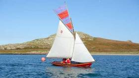 Howth 17 sailing at Howth Yacht Club's Autumn League. The series finished in superb weather yesterday