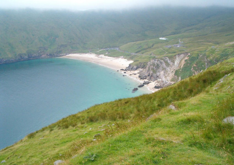 File image of Keem Bay in Achill Island, Co Mayo