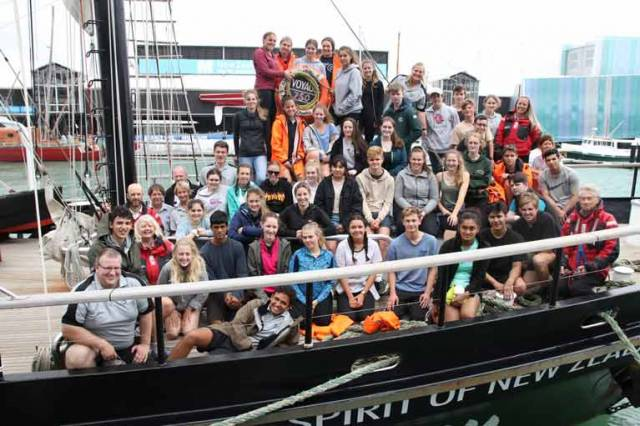 Four Irish youths are on board the New Zealand Tall Ship the Spirit of Adventure for a ten day voyage. In Ireland, the Atlantic Youth Trust is working to replicate the success of the Spirit of Adventure Trust (New Zealand) on the island of Ireland as a youth development cross border initiative.