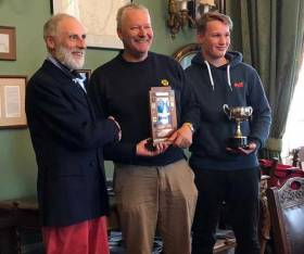 Vincent Delany (left) with winners George (centre) and Andrew Miller