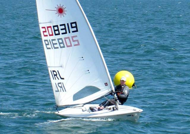 Dave Quinn & Sean Craig Take Laser Masters National Titles at Howth Yacht Club