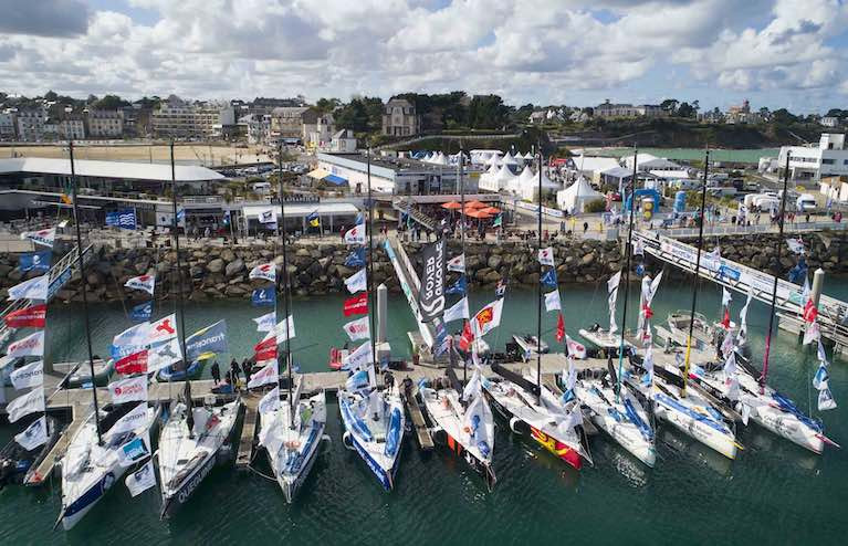 Ireland's Rumball & Dolan in Noon Start of Solo La Solitaire du Figaro Race