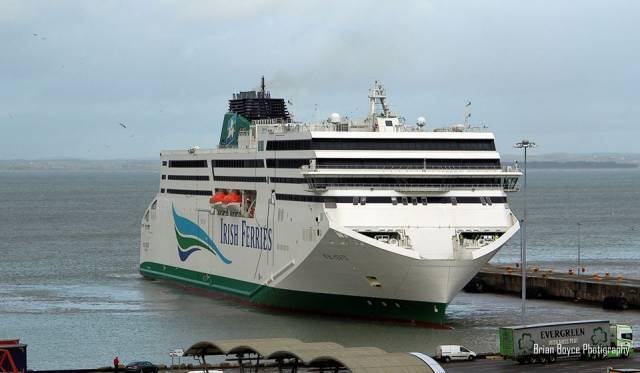 W.B. Yeats Completes First Season on Ireland-France With Follow Up Dry-Docking in Dunkerque