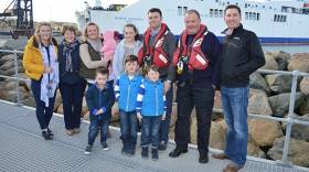 Tony Kehoe and the Kehoe lifeboat family of Rosslare