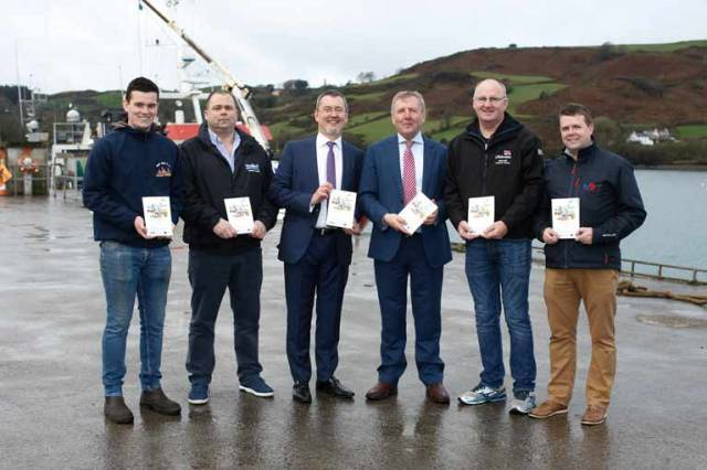 Marine Minister Michael Creed (third from right) launched the new manual available in English, Irish, Arabic, Malay, Russian and Spanish