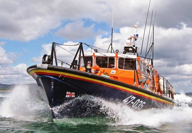 Wicklow's all-weather lifeboat Annie Blaker