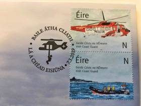 New Irish Coast Guard Stamps Based On Painting By Late Volunteer Caitríona Lucas