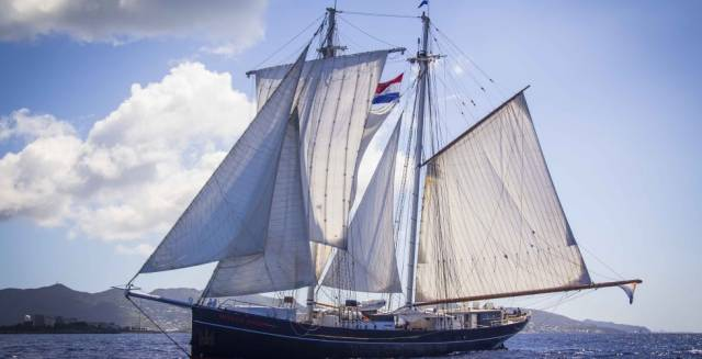 Dutch tall ship Wylde Swan