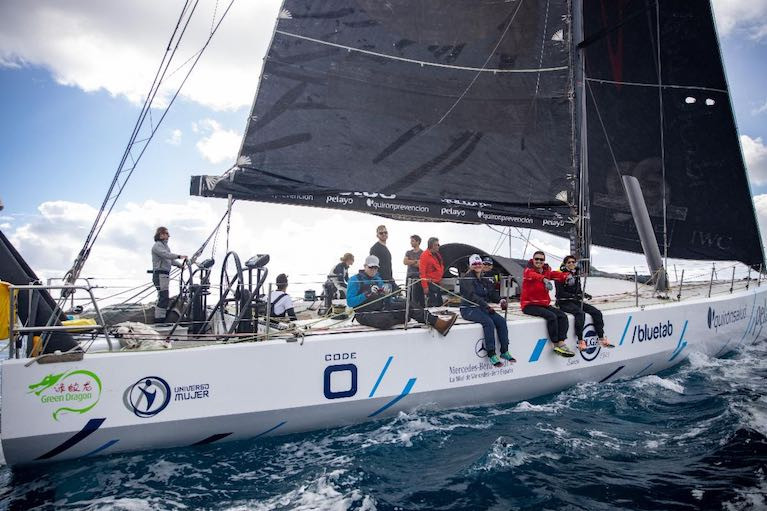 Green Dragon crossed the Atlantic in a time of 9 days, 18 hours, 53 mins and 40 secs