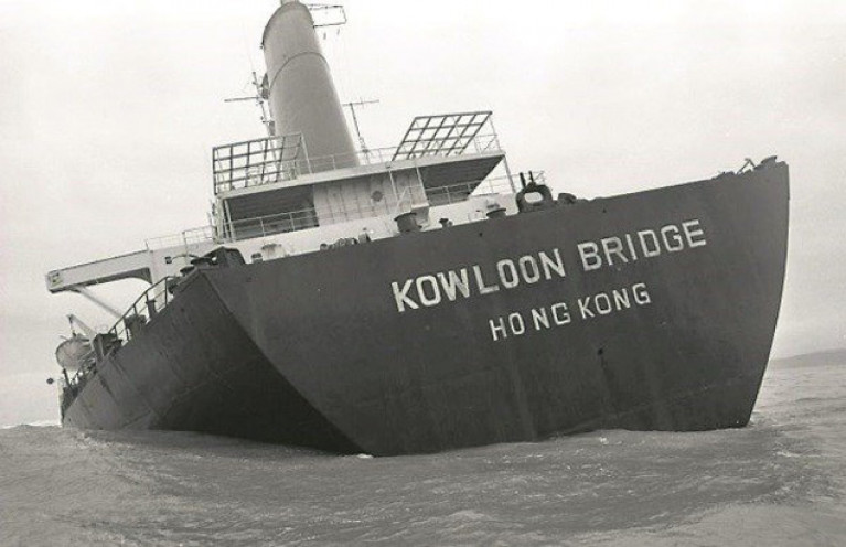 The grounding of the Kowloon Bridge occured off the west Cork coast almost 34 years ago