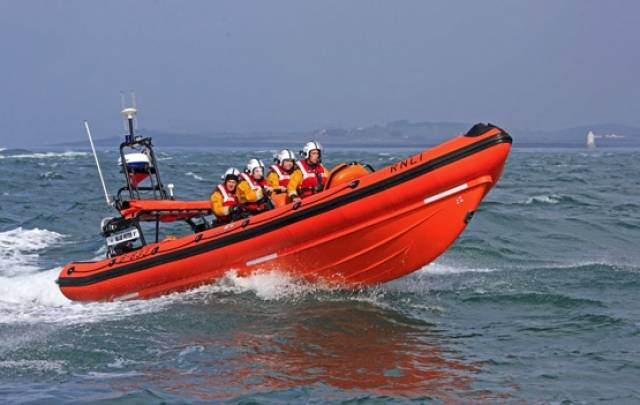 Portaferry Lifeboat Rescues Men From Yacht Stranded On Rocks