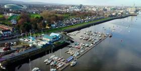 Poolbeg Yacht & Boat Club's cityside marina is inevitably under threat from road and harbour infrastructure expansion plans