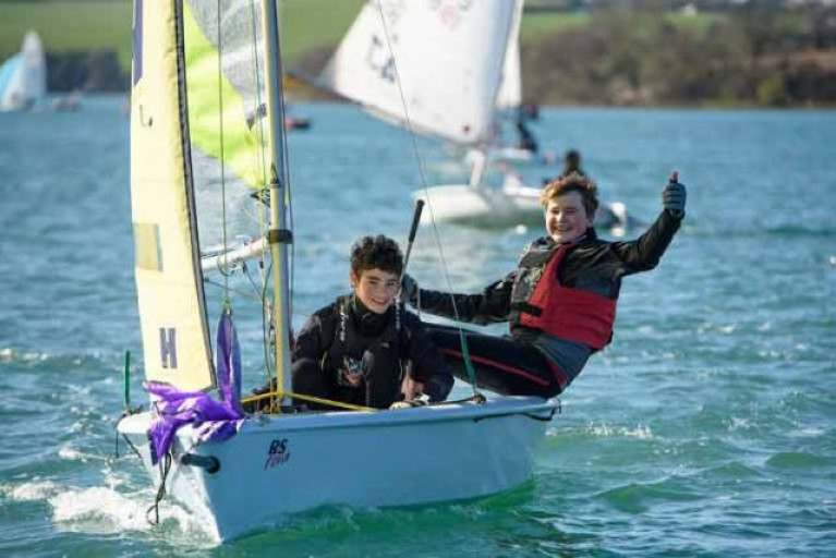 There's a new offering for youth sailors in Cork Harbour