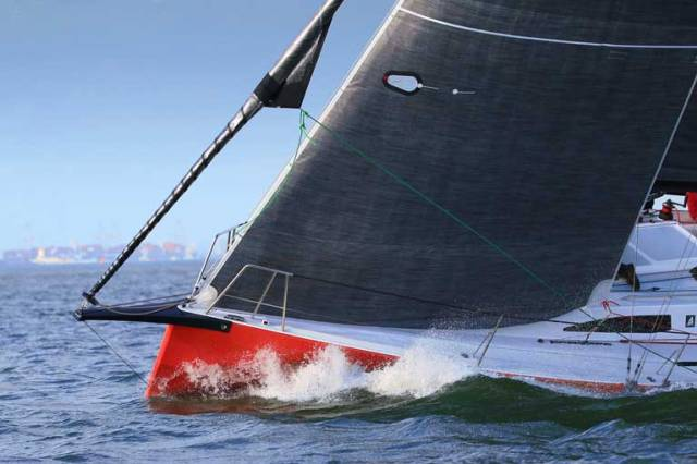 Andrew Algeo's New J99 Juggerknot II in Action at Spi-Ouest Regatta