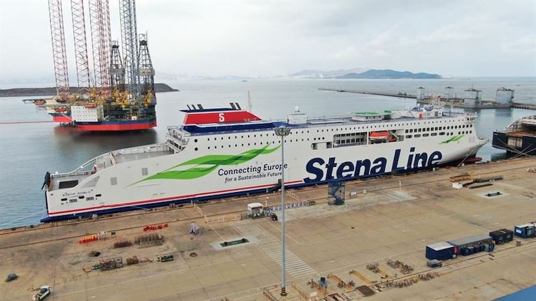Stena Embla in Weihai, China