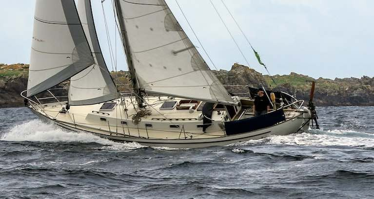 The Saltram Saga 36 – Pat Lawless's Iniscealtra is one of this special type, based on the Colin Archer all-weather concept.
