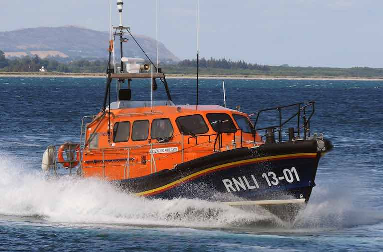 A file photo of Wicklow all-weather lifeboat