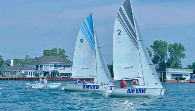 Bayview Yacht Club in Michigan was the host venue for the Detroit Cup, the middle stage of the USA Grand Slam series
