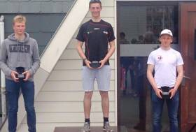 Top Irish radial sailor Ewan McMahon emerged as the winner of May's Belgium round of the Laser Europa Cup. Third was  Royal Cork's Johnny Durcan