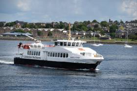 Former Aran Islands passenger ferry Queen of Aran II has recently been rebranded in CalMac corporate livery following Argyll Ferries incorporation into the operator's Clyde and Hebrides Ferry Service contract earlier this year.