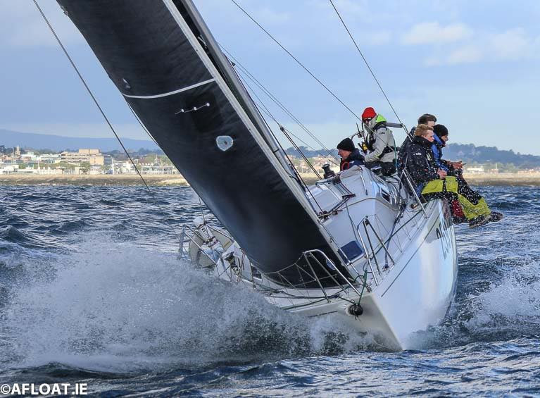 Class Two competitor Lindsay Casey's J97 Windjammer was a DBSC Premier Award winner