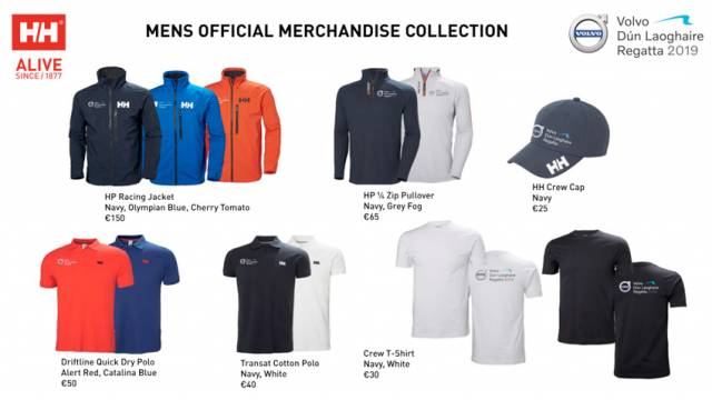 Viking Marine Taking Pre-Orders For Volvo Dun Laoghaire Regatta Official Clothing Collection