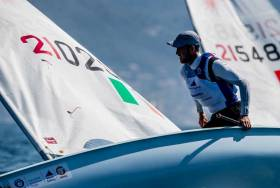 Finn Lynch is sixth overall at the World Cup in Genoa