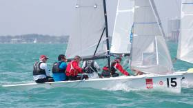 Miami Viper – The O'Leary crew of Robert, Anthony and Tom Durcan counted six top ten results in the eight race Bacardi Sailing Week series on Biscayne Bay