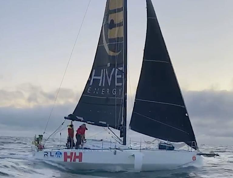 Round Ireland two-handed record bid underway - Pam Lee and Cat Hunt set sail southbound this morning. Scroll down for the live race tracker.