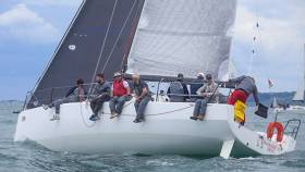Paul O'Higgins (RIYC) in the JPK 10.80 Rockabill VI took honours in both Class 0/1 IRC and ECHO in difficult conditions