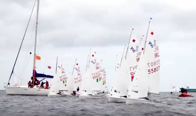 ISA Youth Sailing Video from Ballyholme YC Here