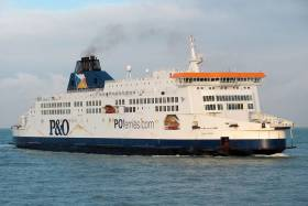 P&O's Pride of Kent, seen here entering the port of Calais in 2011