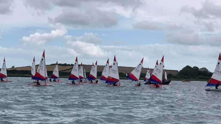 Topper Traveller Series at Ballyholme Yacht Club