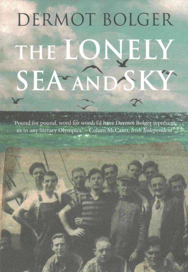 Dermot Bolger's latest novel, published in 2016 and written in memory of Irish seafarers like his father who undertook dangerous voyages from Ireland to Lisbon during World War Two.