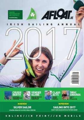 The ideal stocking filler for the sailor in your life! Get a copy of the 2017 Irish Sailing Annual posted directly to you.   Priced at €6.50 plus €3.00 postage (Ireland and UK)