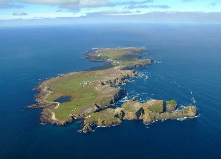 Tory Island off the Donegal coast