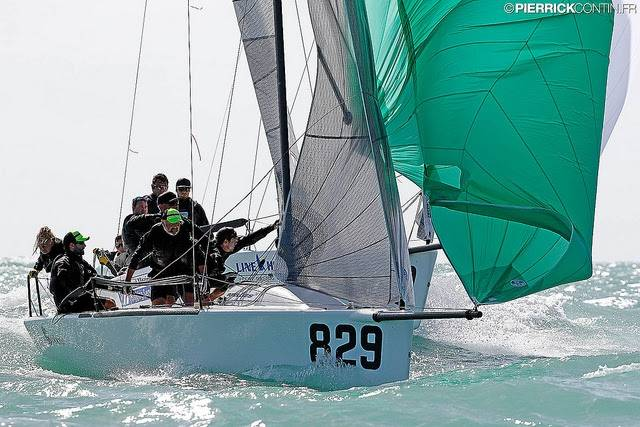 Royal Irish Clarke is Undisputed Leader of Melges 24 Worlds