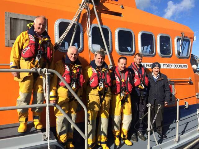 Courtmacsherry RNLI's volunteer lifeboat crew