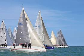 A Cruisers One start during the 2015 Regatta. 290 races will be held in VDLR 2017 starting on July 6