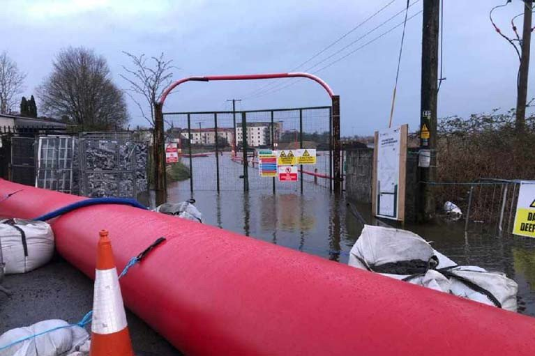 Flooding on the River Shannon