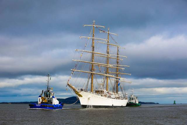 Dublin Port Welcomes Tall Ship 'Libertad' On Ninth Visit To Capital