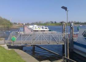Marina berths at Carrick-on-Shannon