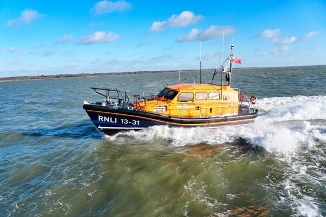 Clogherhead RNLI's new Shannon Class lifeboat Michael O'Brien