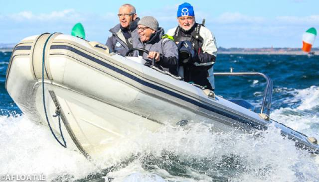 The North Sails Ireland team on the water at Howth last season. Next Tuesday, the NSI team of Nigel Young, Shane Hughes and Prof O'Connell will demonstrate the theory and practice of upwind sail trim and how to optimise your set-up