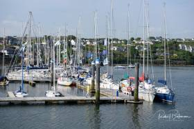 The Sovereign's Cup fleet assemble at Kinsale Yacht Club marina