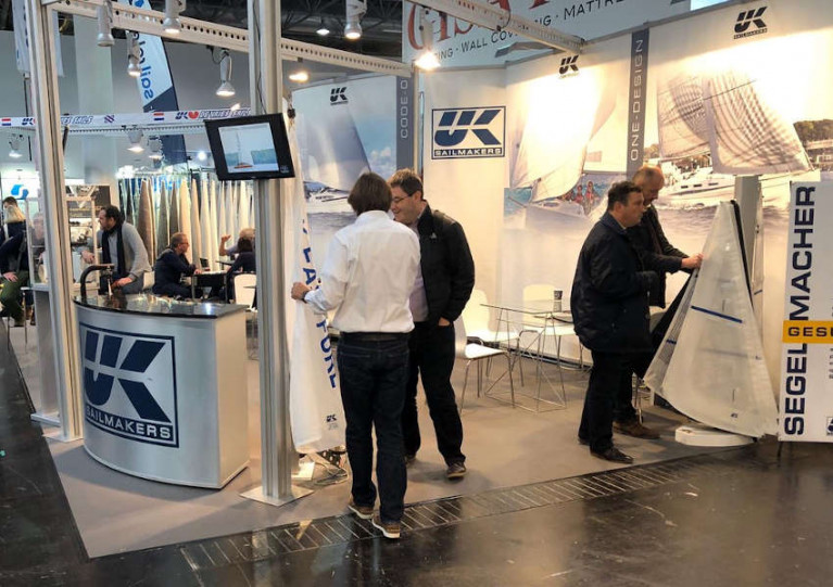 The UK Sailmakers stand at boot Düsseldorf 2020