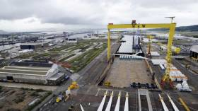 UK Government support is sought for the return of shipbuilding at Harland & Wolff, Belfast