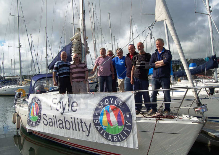 RYANI Recognises Foyle Sailability For Keeping Members Connected and in Good Spirits During Lockdown