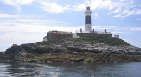 Rockabill is a mark on the course of Saturday's ISORA Lighthouse race